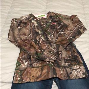 Under Armour Scent Control hunting shirt medium